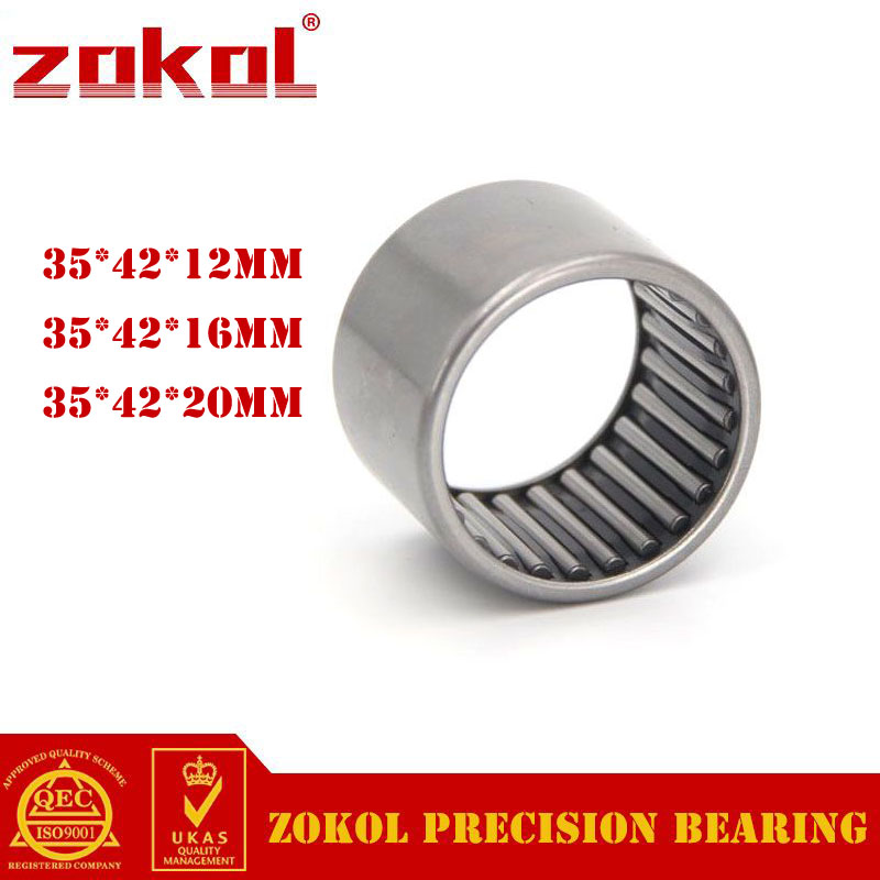 ZOKOL Bearing HK3512 HK3516 HK3520 Needle Roller Bearing 35*42*12mm 35*42*16mm 35*42*20mm