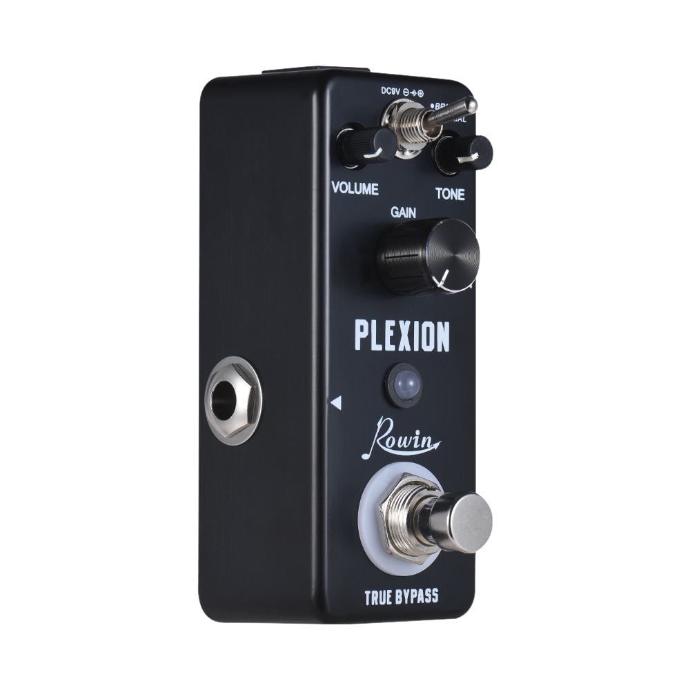 hot sale rowin plexion guitar effect pedal aluminum alloy shell true bypass in guitar parts. Black Bedroom Furniture Sets. Home Design Ideas