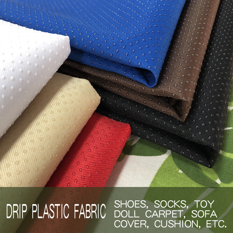 Anti Slip Treated Micro Suede Non Slip Fabric DIY Cushions Carpets Material