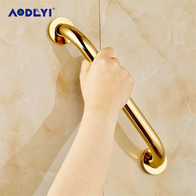 AODEYI 350mm Bass Bathroom Armrest Bathroom Handle Bathtub Armrest Handrail Grab  Bars Safety Grab Rail Hand