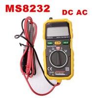 DHL FEDEX TARAFıNDAN 10 ADET MS8232 Mini Taşınabilir Oto Aralığı Veri Tutma Spot Arka Işık Otomatik kapanma Dijital Multimetre Test