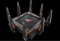 ROG GT AX11000 трехдиапазонный Wi Fi игровой маршрутизатор первый в мире 10 гигабитный Wi Fi маршрутизатор с четырехъядерным процессором, 2,5 г игровой