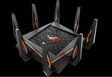ROG GT-AX11000 Tri-band WiFi Gaming Router World's first 10 Gigabit Wi-Fi router with quad-core processor, 2.5G gaming port все цены