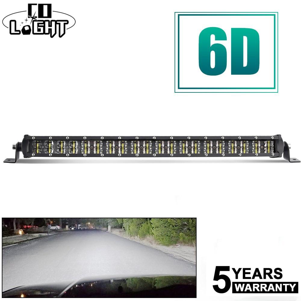 CO LIGHT 22 120W LED Light Bar 6D Combo Led Beams Led Work Light 12V Auto