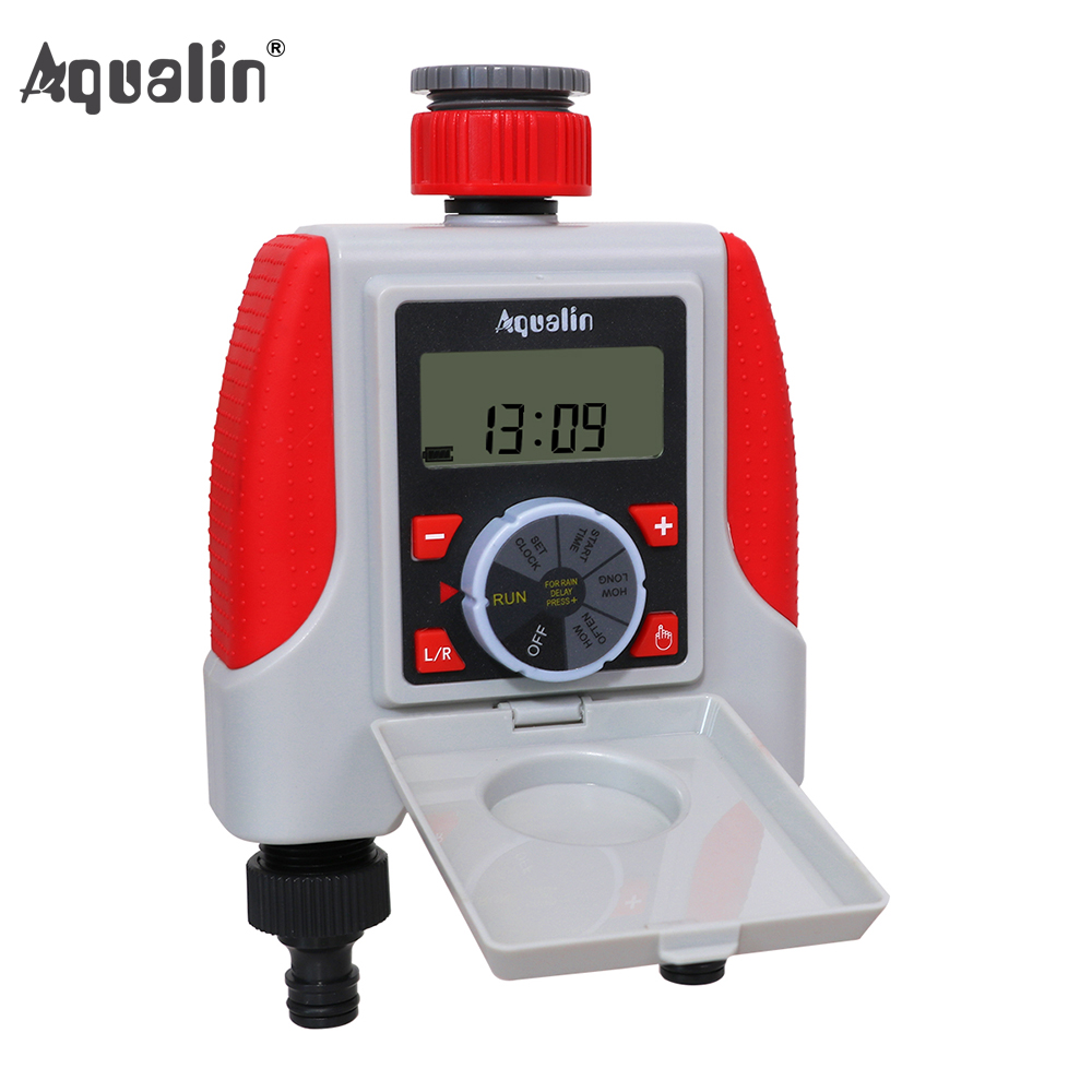 Aqualin Dual 2-Outlet Automatic Watering Digital Timer