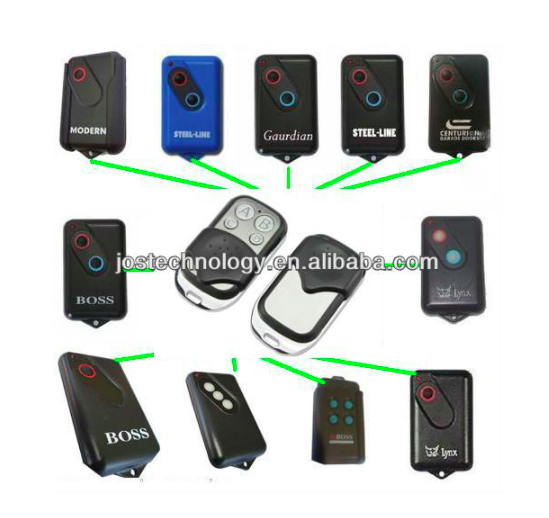Remote control 303MHZ for boss,guardian,modern,steel-line,lynx,centurien  boss centurion guardian lynx mofor dern steel line garage door radio control 303mhz bht4 2211 l replacement remote