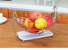 Hammock Fruit / Vegetables / Produce Metal Basket Rack Display Stand