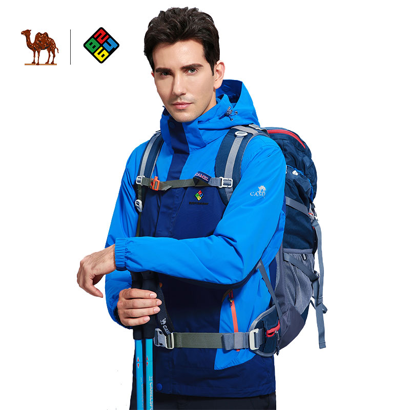 CAMEL X 8264 Men's Winter Cotton Outdoor Jacket Thermal Waterproof Windproof Camping Hiking Skiing Snowboarding Male Jacket super thick thermal fleece warm man winter jacket waterproof windproof jacket skiing snowboarding climbing hiking camping jacket