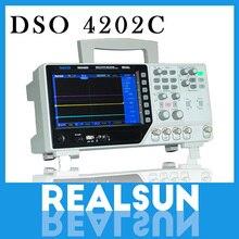 Hantek dso4202c 2 채널 디지털 오실로스코프 1 채널 임의/기능 파형 발생기