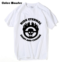 Movie Mad Max T Shirt Men Ride Eternal Shiny And Chrome Letter Printed Top Tees Women