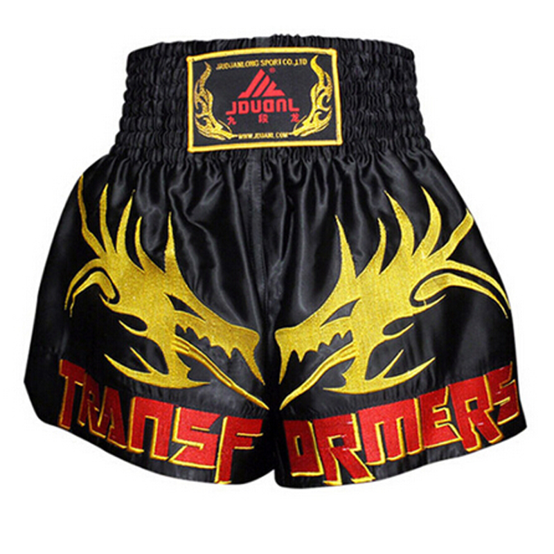 MMA Fitness Fighting Pants Martial Arts Shorts Sports Men/'s Clothing Poker Card