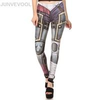 Fashion Robot Women Digital Printing Leggings Casual Styles Ladies Skinny Pencil Pant Bodycon Slim Hot Sale