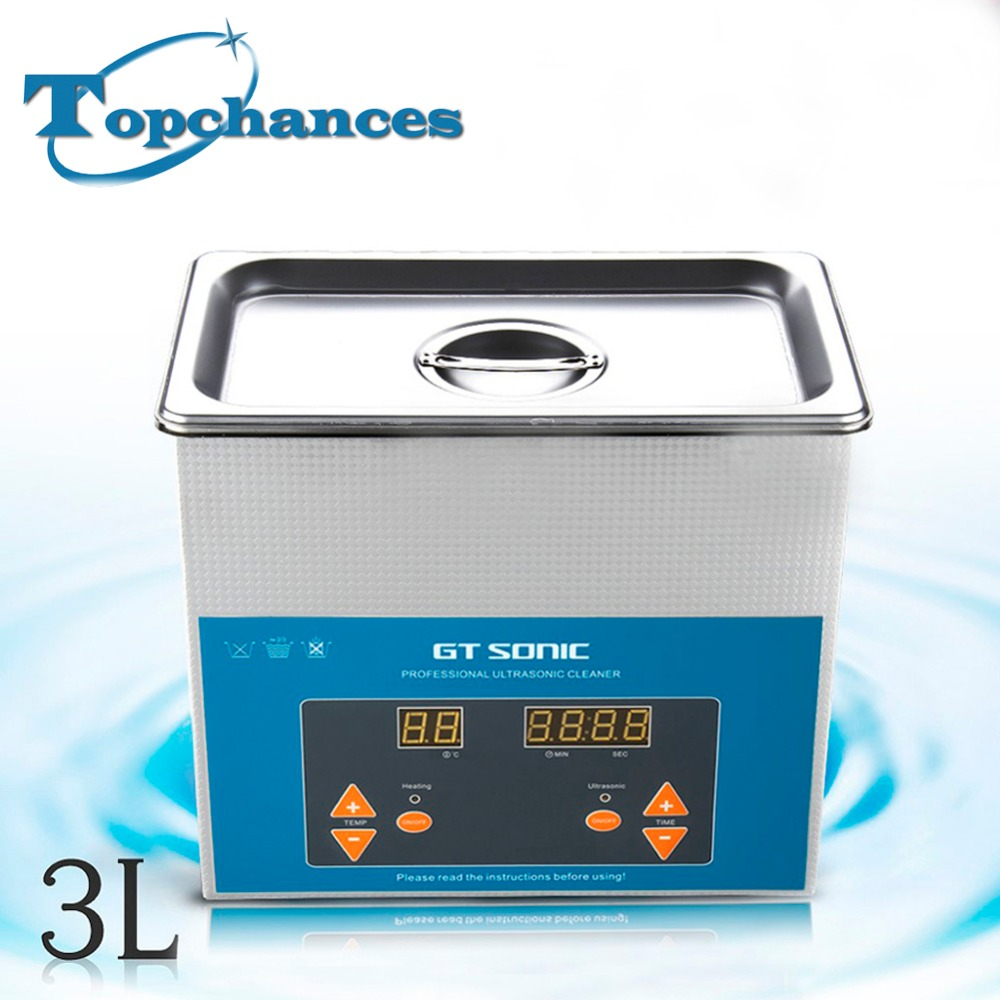 Newest 3L 220/240V Digital Ultrasonic Cleaner Bath For Electronic Components Jewelry Glasses Circuit Board Cleaning Machine