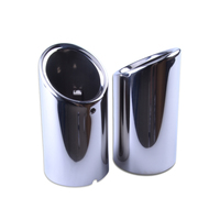 VW Jetta Sagitar Scirocco All Universal VW Volkswagen Car Exhaust Tip Stainess Steel Pipe Tips Car