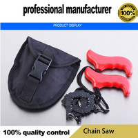 chain saw for camping survive use made of good quality steel at good price with belt for hand hold