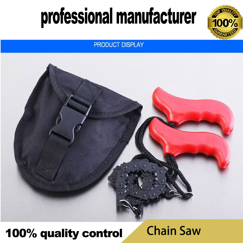 цена на chain saw for camping survive use made of good quality steel at good price with belt for hand hold