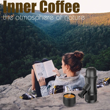 TUANSING Portable Coffee Maker Handheld Manual Pressure Coffee Machine Mini Espresso Maker for Home Office Travel Outdoor