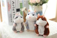 Talking Hamsters Fashion Lovely Kid Gift Plush Toy Doll 15CM Factory Sale Free Shipping R 05