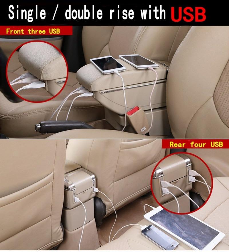 För Chevrolet LOVA armstödslåda centralt Lagra innehåll Lagring - Reservdelar och bildelar - Foto 6