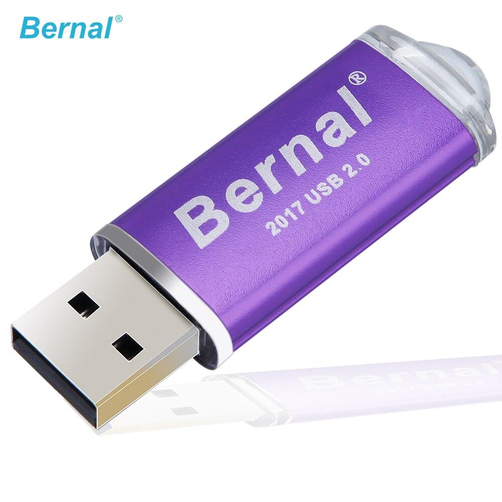 Bernal Mini Metal Pendrive Usb 2.0 Flash Drive  16GB 32GB 64GB 128GB 256GB GIFT USB FLASH DRIVE FREE SHIPPING