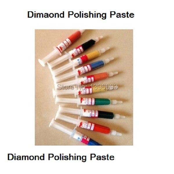 10pcs/set Polishing Paste Diamond Paste For Polishing Wax For Metal Mirror Polished Syringes