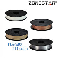 High Quality Full Color 3D Printer Filament PLA ABS 1 75mm Plastic Rubber Consumables Material