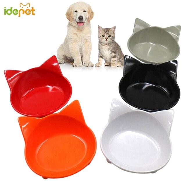Dog Bowl Portable Cute Silicone Pet Cat Dog Food Water Feeding