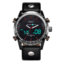 hot deal buy creative fashion sport military wristwatches 2018 new amst watches men luxury brand waterproof led digital analog quartz watches