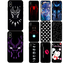 For iPhone 5 5s SE 6 6s Plus Soft Silicone Case Phone Back Cover TPU Shell For iPhone 7 7Plus 8 8Plus X XS XR XS Max Case стоимость