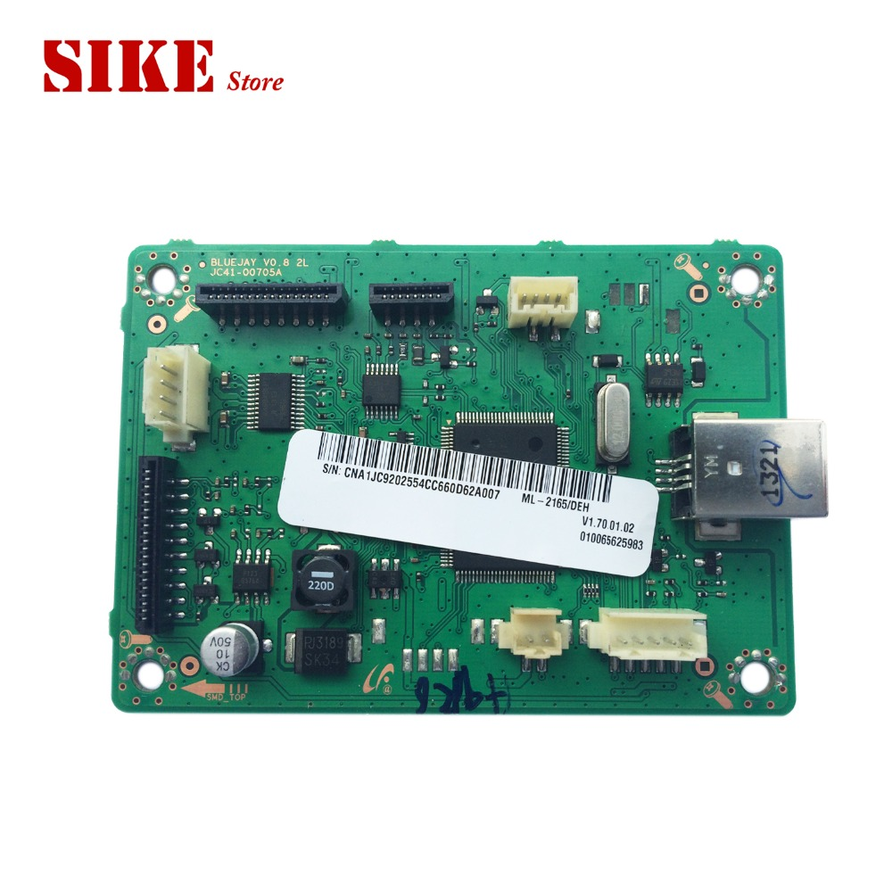 Main Board For Samsung ML-2160 ML-2161 ML-2165 ML-2166 ML 2160 2161 2165 2166 ML2160 Formatter Board Mainboard Logic Board