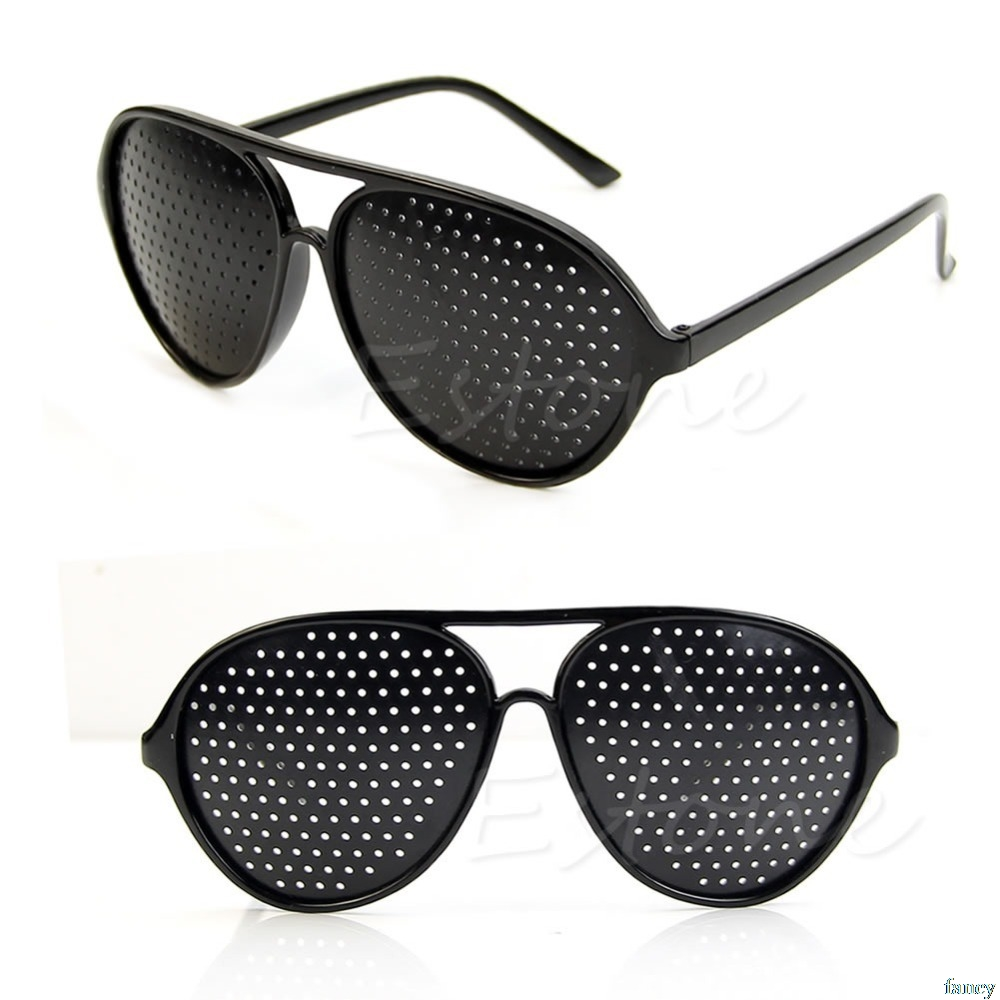 High Quality Cool Care Vision Improver Anti-fatigue Stenopeic Pinhole Glasses