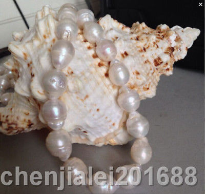 pearl necklace 18inch huge 16-18mm natural south sea white куртка мужская geox цвет темно синий m8428vt2502f4441 размер 56