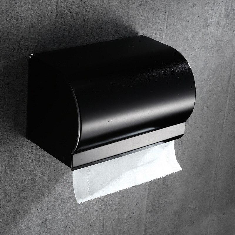 Оборудование Ванной Комнаты Набор #10 Современные Держатели Бумаги Водонепроницаемый Ткани Коробка Туалетной Бумаги, Бумажных Полотенец Диспенсер Для Салфеток Для Одежды Металлические