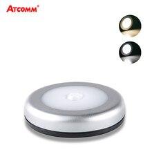 PIR Motion Sensor LED Unter Kabinett Licht AAA Batterie Betrieben Einfach Installieren Cordless Smart Nacht Lampe Für Treppen Schlafzimmer Korridor