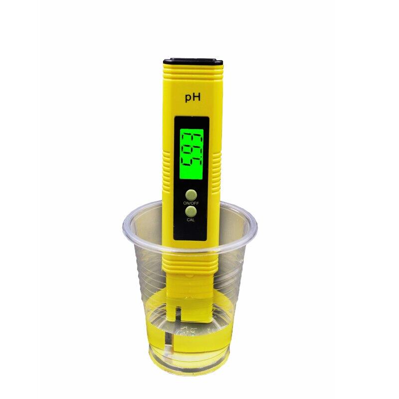 automatic calibration 0.01 Digital LCD Pen Monitor Gauge Aquarium Pool Water ph meter Analyzer tester with backlight 40%