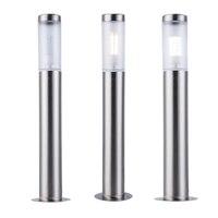 ZMJUJA Stainless Steel LED Outdoor Garden Light Waterproof Led Landscape Yard Lawn Path Lamp include 7W Bollard Light AC220V