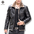 2016 Giacca Pelle Uomo Jackets and Coats Jaqueta De Couro Masculina Men's Casual Fashion Slim Fit Motorcycle Leather Jackets Men