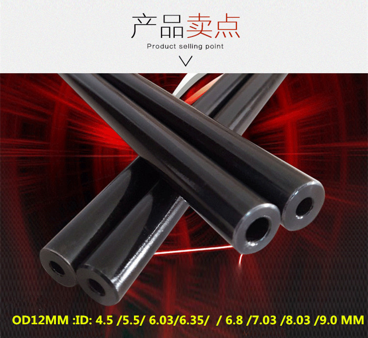 seamless steel pipe OD 12 mm long 50cm tube steel Hydraulic 40cr chromium molybdenum alloy precision