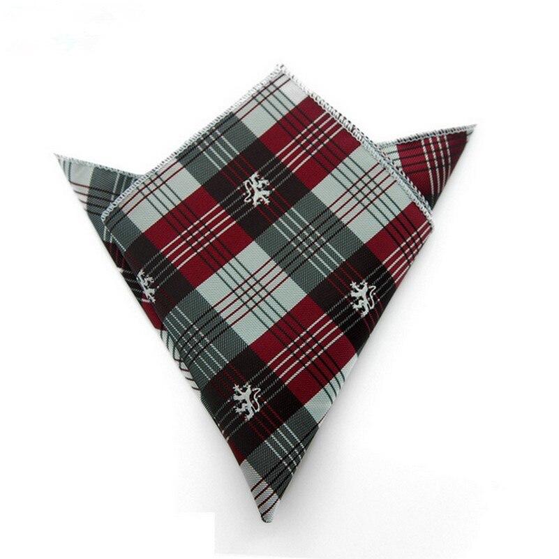 Print Jacquard Mens Gentleman Pocket Square Embroidery Fancy Wedding Handkerchief Gentleman Fazzoletto Taschino Uomo
