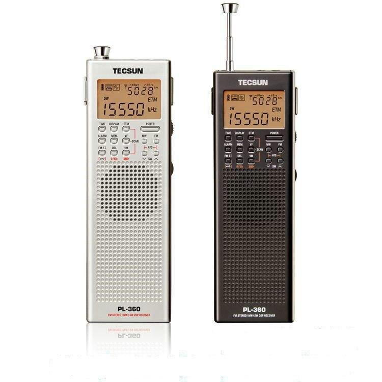 Fm Uhr Radio Mit Etm Tecsun Pl118 Pl-118 Fm Radio Federleichte Digital Pll Synthetisiert & Dsp digital Signal Processing