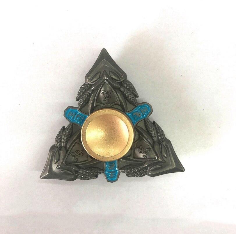 Triangular Hand Spinner Metal Profession Genji Spinner