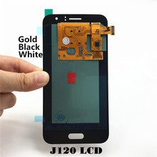 Top Quality Phone LCD Replacement for Samsung Galaxy J1 J120 J120F J120M J120H Display Touch Digitizer with Free Tools