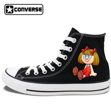 Women's Converse All Star Original Design Doll Toys Bear Toys Hi-Top Skateboarding Shoes Canvas Sneakers Men Brand All Star