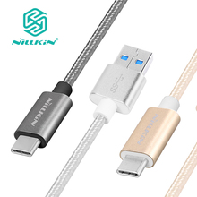 Nillkin Type C quick charge 3.0 usb cable date cable universal Elite Nylon cable for xiaomi mi5 zuk z2 pro zuk z1 nexus 6p 5x