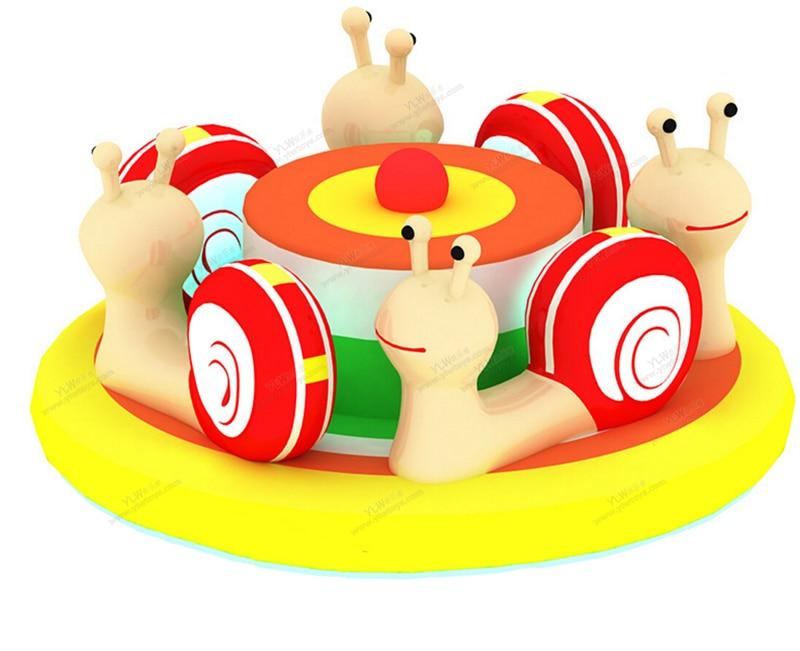 Jouets électriques mous d'intérieur d'amusement d'enfants, enfants tournant des chaises molles, équipement mou de jeu de bande dessinée, tour de siège d'oscillation sur des jouets d'animaux
