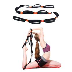 5BILLION Yoga Stretch Strap Training Belt Waist Leg Yoga Extend Belts-Daisy Chain Rope-Ideal for Yoga, Physical Therapy
