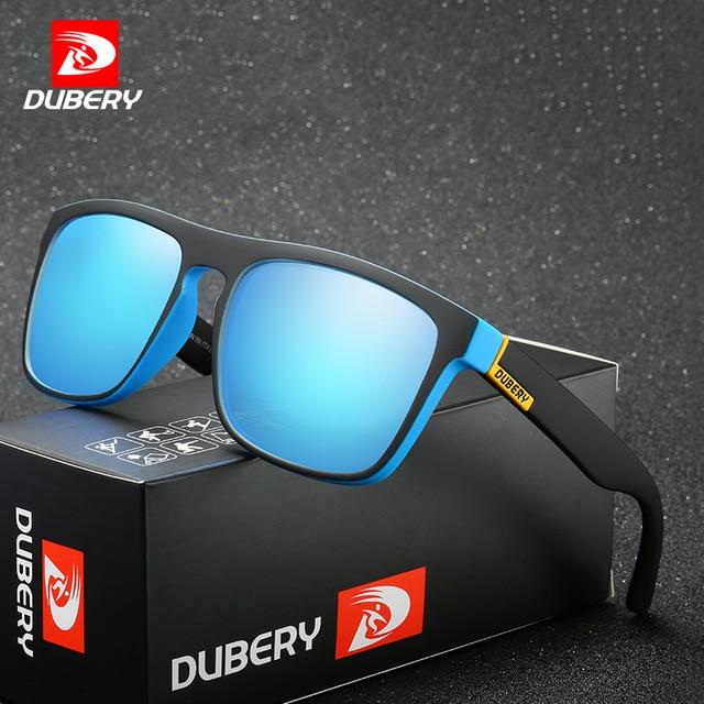 DUBERY Shades Óculos de Sol Masculinos Polarizada óculos de Sol Dos Homens  óculos de Condução Para 1069c5eb87
