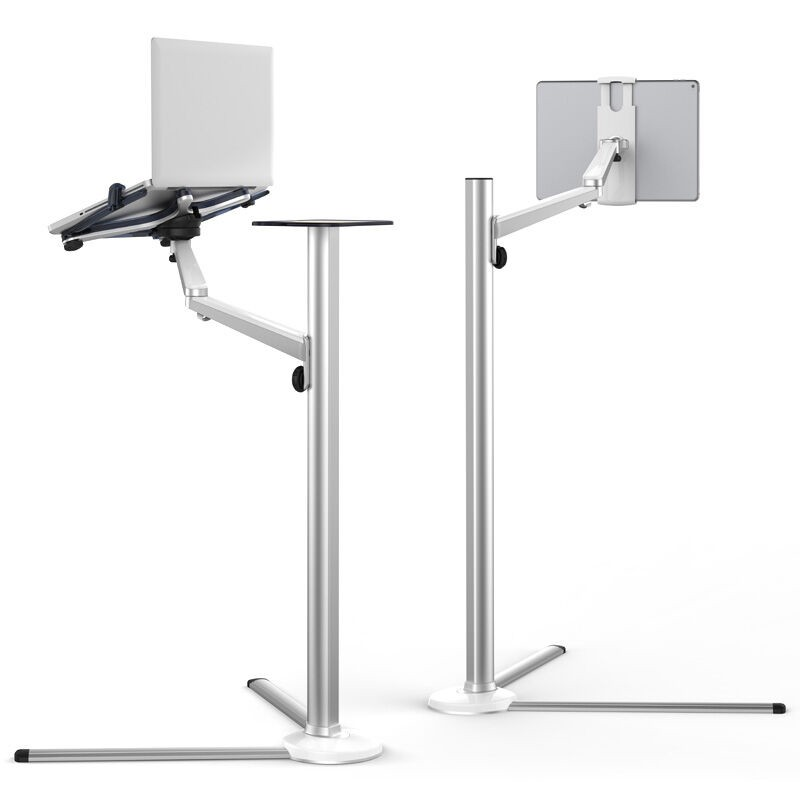 Multifunction 3 In1 Computer Floor Stand For All Laptop