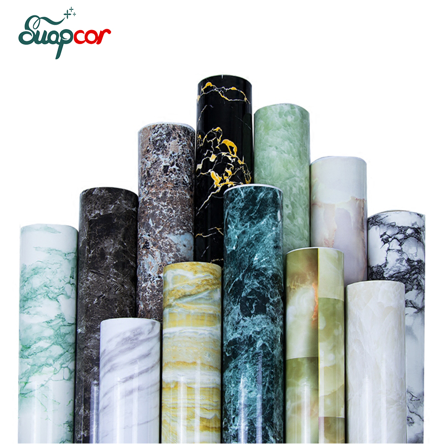 3mx0.6m PVC Marble Self adhesive Wallpaper Mural Kitchen Bathroom Bar Wall Sticker Furniture Waterproof Stickers Home Decor old furniture decorative film cupboard wardrobe paint sticker pvc self adhesive wallpaper waterproof home decor wall stickers