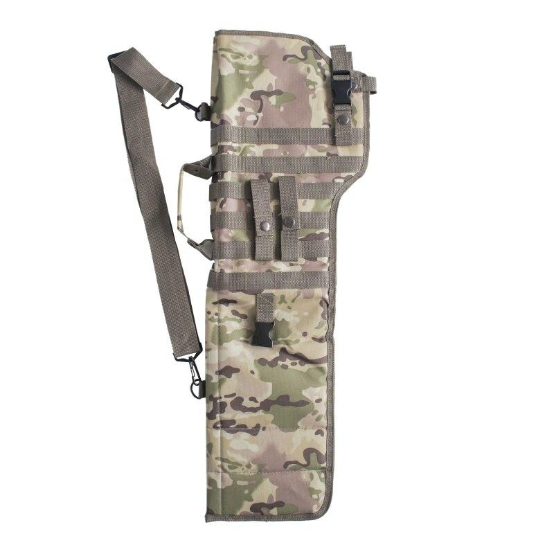 Bolsa de Proteção Tático Rifle Bainha Exército Militar Coldre Assalto Caça Arma Longa Portador Novo